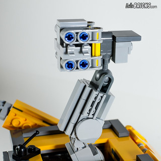 REVIEW LEGO 21303 WALL-E LEGO IDEAS 17