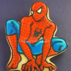 Crouching Spiderman