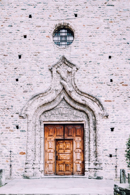 Portale della Chiesa di San Martino (Arnad)