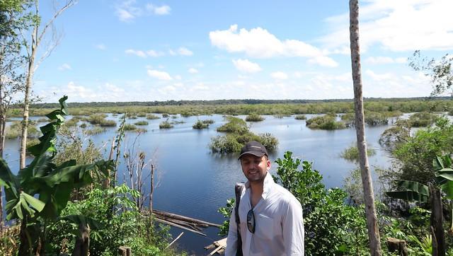 zaid tupana river from amazon local village