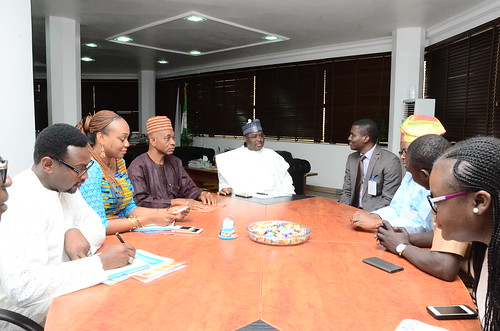 Visit by Businessday to the SEC, NG