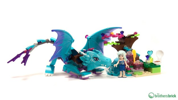 LEGO Elves 41172: The Water Dragon Adventure [Review]   The Brothers ...