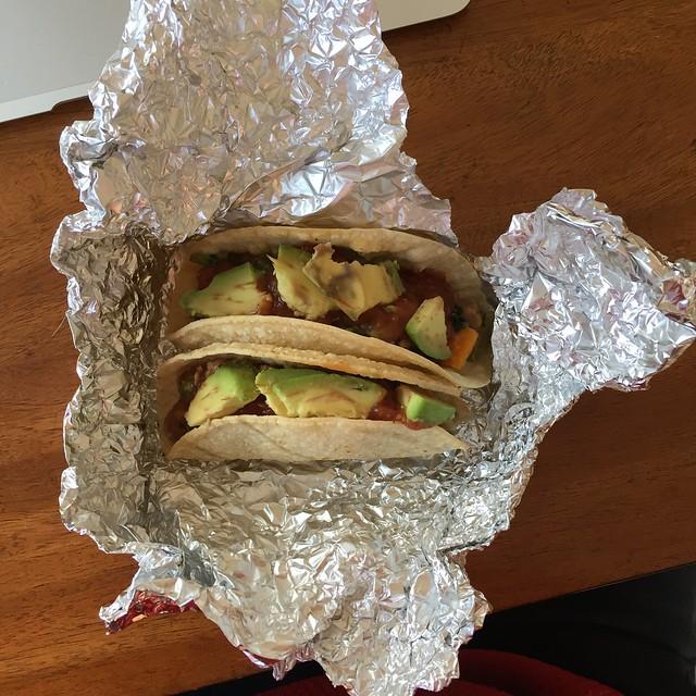 Breakfast taco packet
