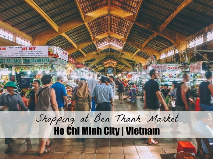 Shopping at Ben Thanh Market in Ho Chi Minh City Vietnam HCMC | How to get the best deals on clothes and gifts