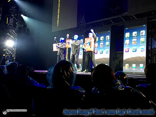 Blue Man Group Cap n Crunch