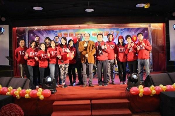 6福委會幹事們辛苦籌辦尾牙活動