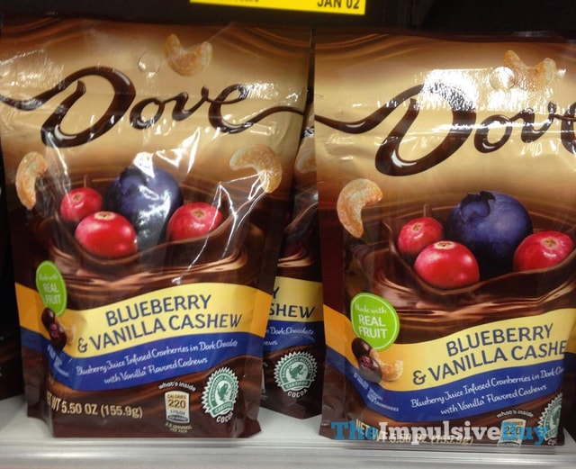 Dove Blueberry & Vanilla Cashew