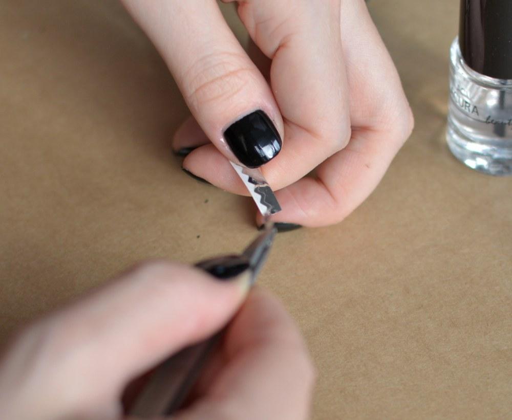 Fantastisch Chevron Streifen Nägel Bilder - Nagellack-Design-Ideen ...