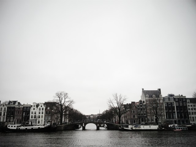 Amsterdam: Amstel rivier