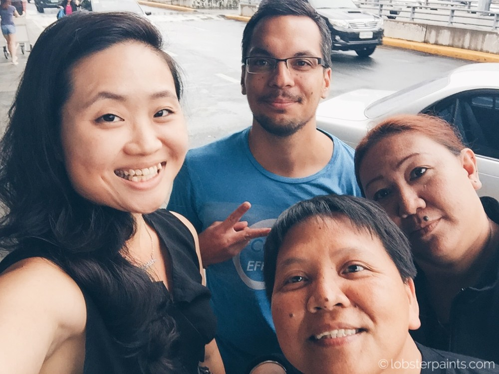 17 October 2015: Good bye @ NAIA | Metro Manila, Philippines