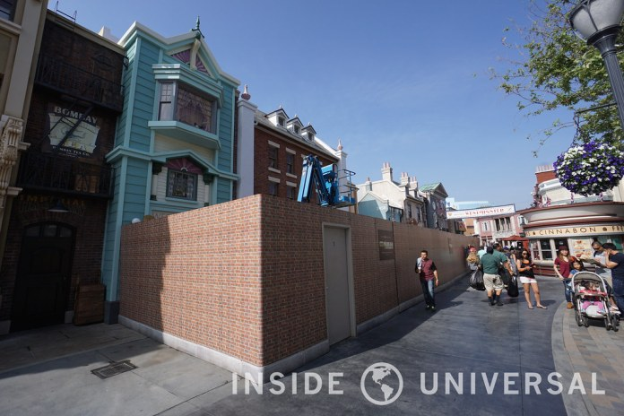 Photo Update: March 20, 2016 - Universal Studios Hollywood - The Walking Dead Attraction