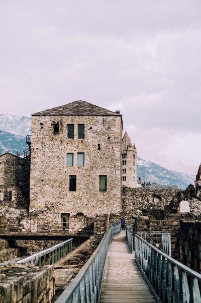 Area teatro romano (Aosta)