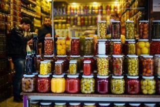 Istanbul: pickles in Beyoglu
