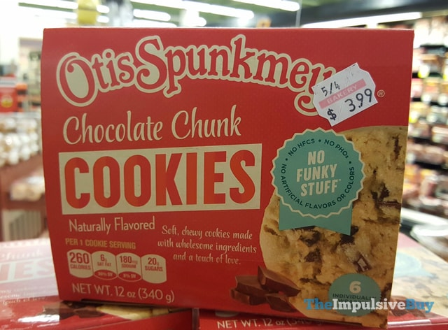 Otis Spunkmeyer Chocolate Chunk Cookies