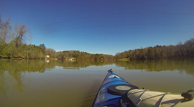 Saluda Lake Paddling-31