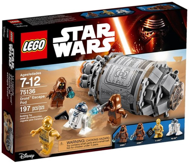 75136 Droid Escape