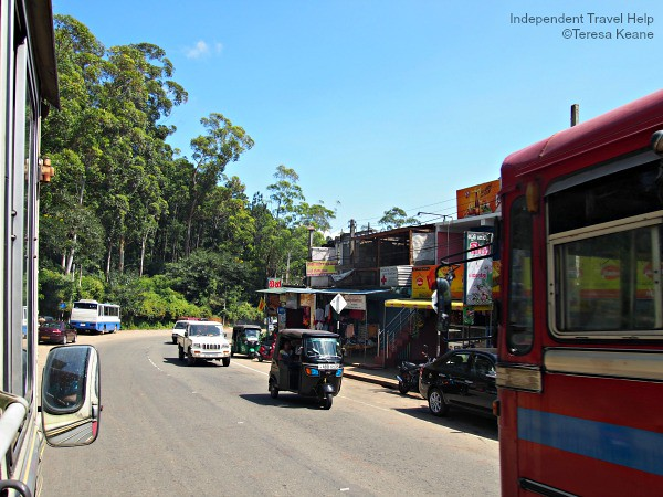 A Street in Sri Lanka