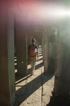Angkor Vat Säulengang