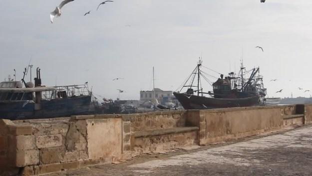 Essaouira fortress video