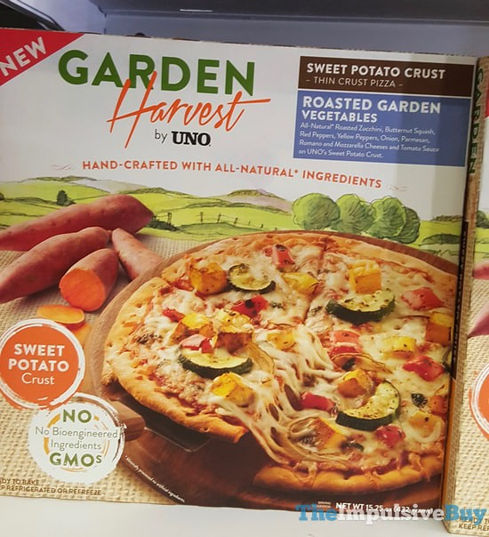 Garden Harvest by Uno Roasted Garden Vegetables Pizza