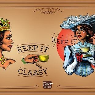 Keep It Classy at Tea Time