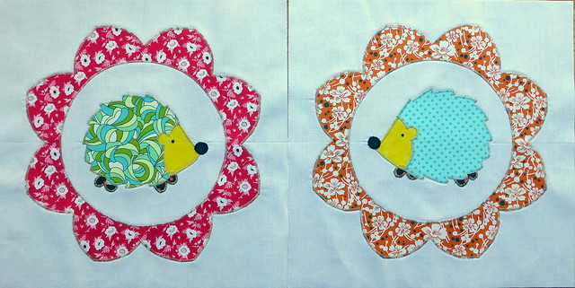 Hedgehogs for Ann/Siblings Together Bee 2