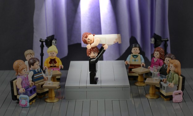 LEGO Dirty Dancing Theatre Scene