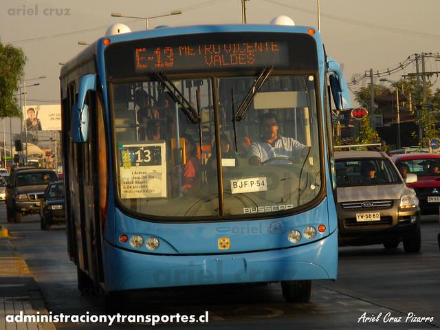 Transantiago - Unitran - Busscar Urbanuss Pluss / Mercedes Benz (BJFP54)