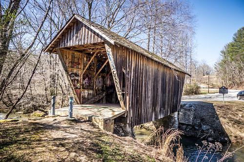 Stovill Mill Covered Bridge-005