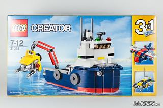 REVIEW LEGO 31045 Creator Ocean Explorer 01