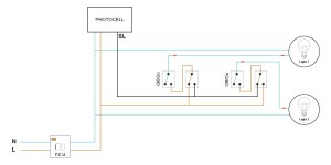 Photocell override  will this circuit be OK? | DIYnot Forums
