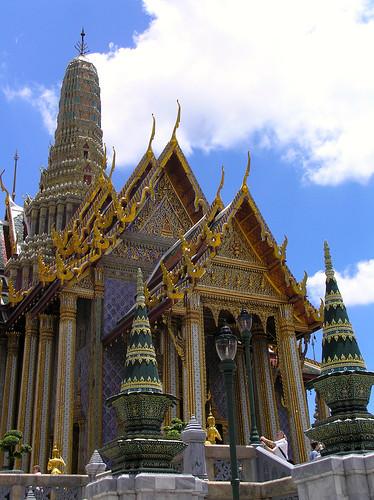 Inside Phra Kaew