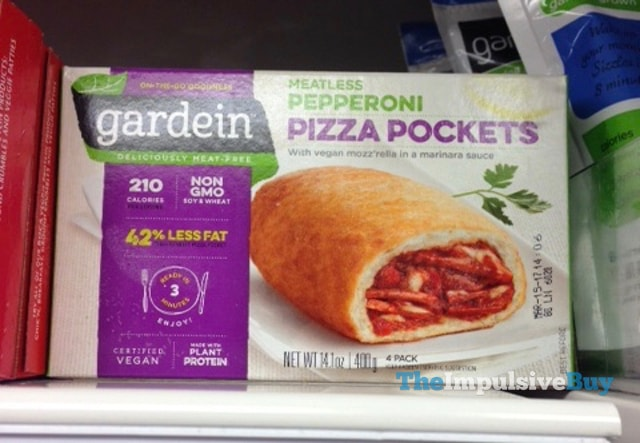 Gardein Meatless Pepperoni Pizza Pockets