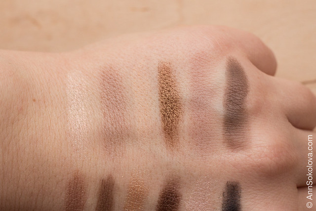03 Maybelline The Nudes swatches