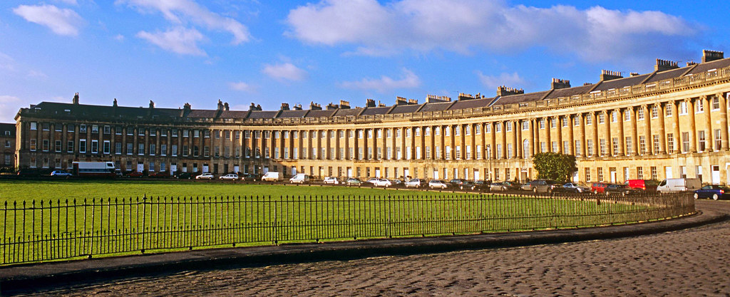 Bath en un día: Royal Crescent de Bath Bath en un día Bath en un día, el SPA de Roma en Inglaterra 25175644615 a1527e9005 b