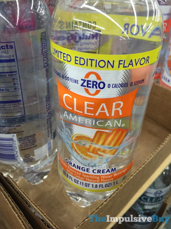 Limited Edition Clear American Orange Cream