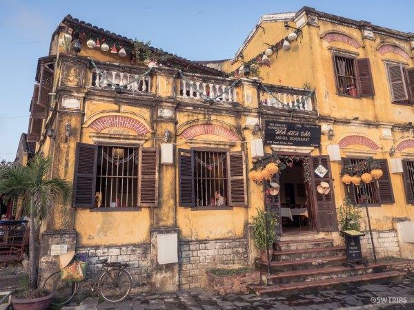 Restaurant on a Charming on Building - Hoi An, Vietnam.jpg