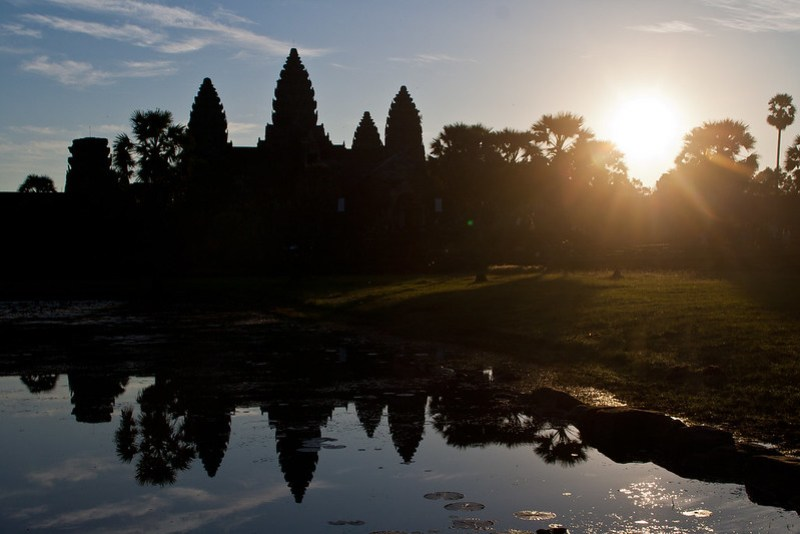 Angkor Vat Sonnenaufgang