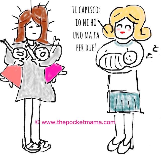 mamma di gemelli