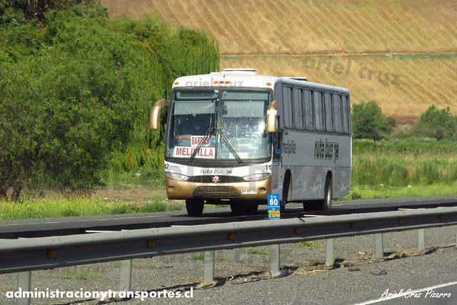 Ruta Bus 78 Melipilla - Marcopolo Andare Class / Mercedes Benz (BVDC72) (112)