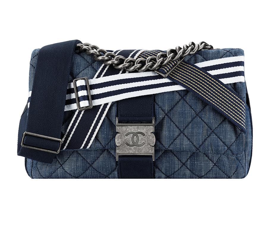 Chanel Flap Denim