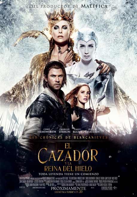 Las Crónicas de Blancanieves - El Cazador y la Reina del Hielo - Estreno