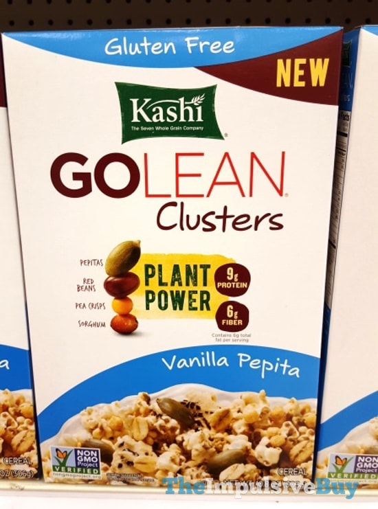 Kashi Vanilla Pepita Go Lean Clusters