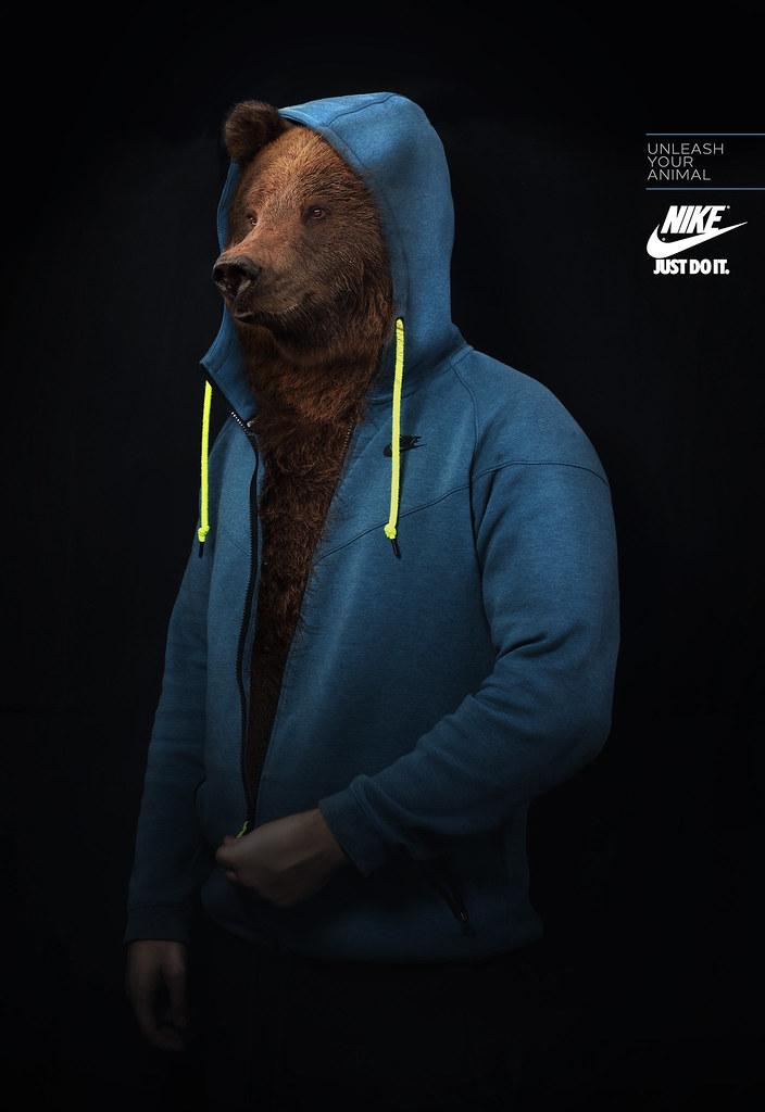 Nike - Unleash Your Animal Bear