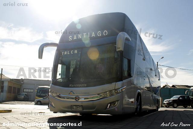 Buses Altas Cumbres - Constitución - Marcopolo Paradiso 1800 DD / Volvo (GLZH77)