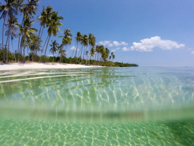 Clear water. Siquijor