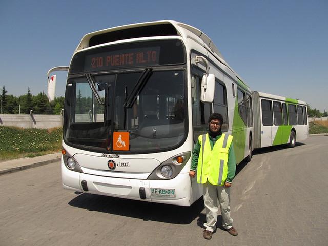 Ariel & Bus Transantiago
