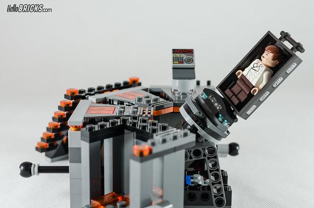 REVIEW LEGO Star Wars 75137 Carbon-Freezing Chamber 23 (HelloBricks)