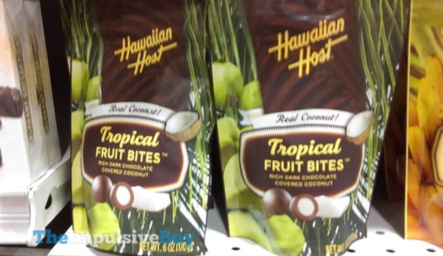 Hawaiian Host Coconut Tropical Fruit Bites