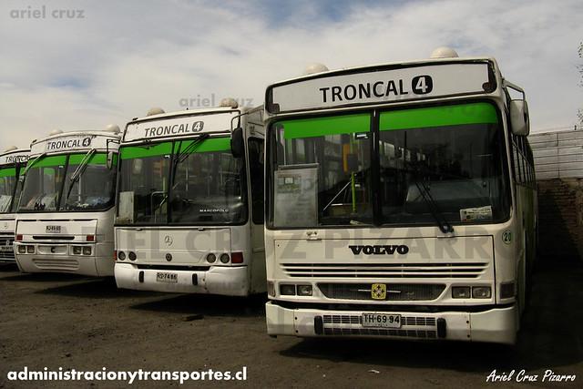 Transantiago (406e) - Terminal La Estrella